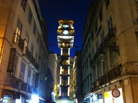 An elevator designed by Eifel