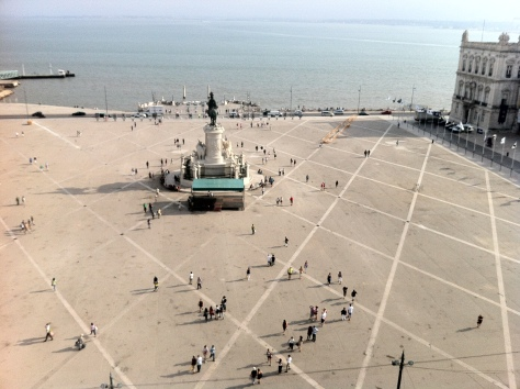 The biggest square in Lisbon