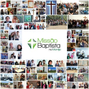 A photo collage we made for the church anniversary. Each picture represents big investment on the part of many people.