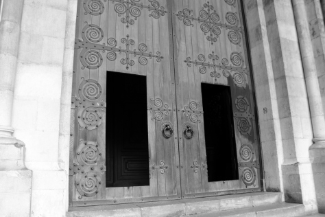 Doors into Sé Cathedral