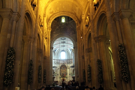 Inside the Sé Cathedral
