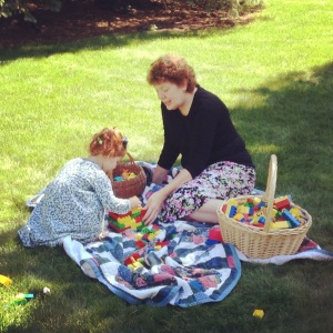 Afternoon playtime with Nana
