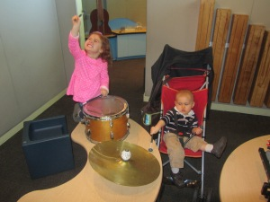Making a joyful noise at a children's museum