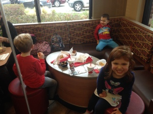 Chick-fil-a makes us happy!